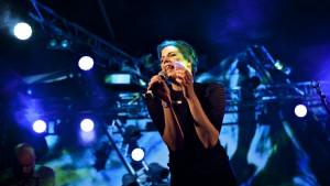 Sandra Kolstad , Øyafestivalen, 09.08.2013