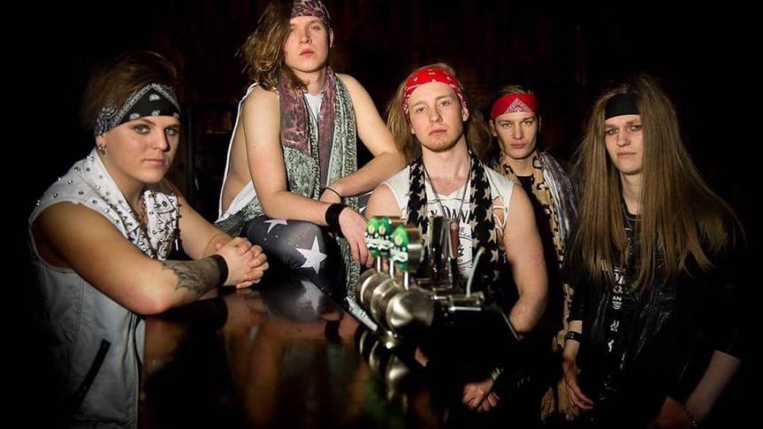 En stor drøm går i oppfyllelse for det unge rockebandet fra Lillestrøm