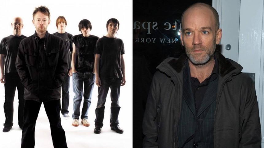 R.E.M.-frontmannen støtter Radiohead