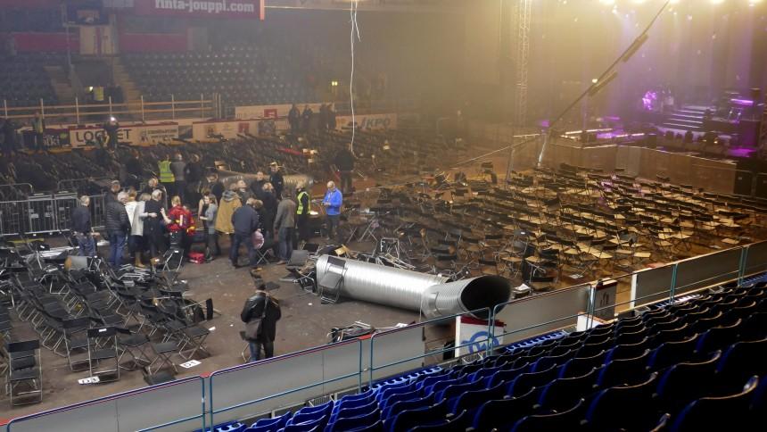 Flere skadd under konsert i Finland