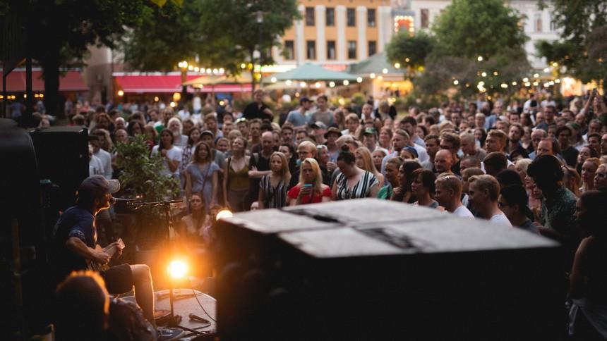 STOR BILDESERIE: Slik så det ut da GAFFA-vogna inntok Musikkfest Oslo