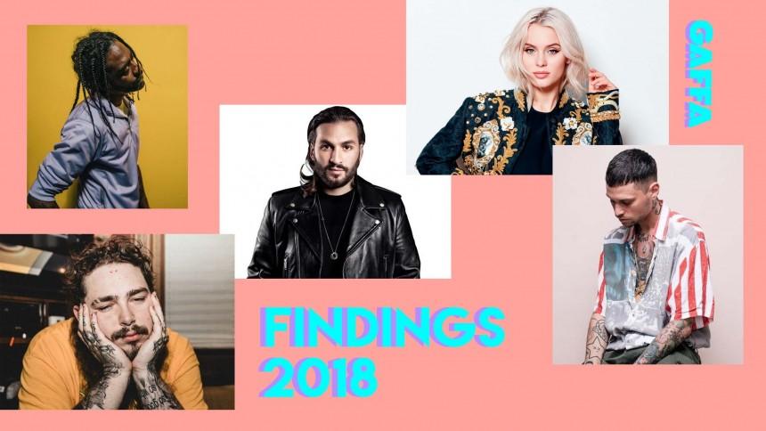 SPILLELISTE: Findings Festival 2018