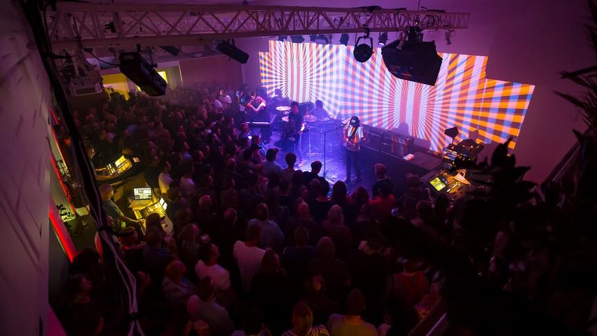 Slik så det ut da Slowdive spilte sin mest intime konsert på 25 år